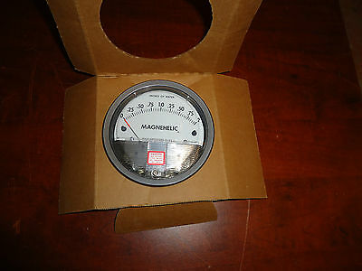 Dwyer, Magnehelic, Water Pressure Gage,o-2, Model#2002, New No Box