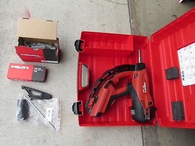 Hilti GX-120 gx120  Gas driven Actuated Tools kit  COMBO &  MINT (695)