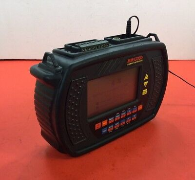 Commtest MMS3000 T6V4 Data Logger with Power Supply & Shoulder Strap.  2A