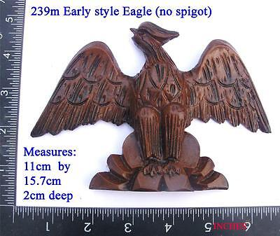239m Medium early style   Eagle for Vienna regulator clock case / DIY