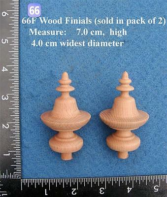 *Pair of Clock / furniture Finials Style 66F