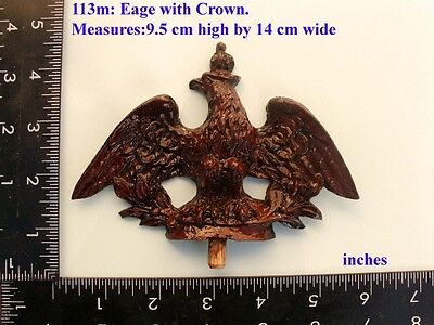 "113M ""Medium Eagle"" clock case / furniture DIY"