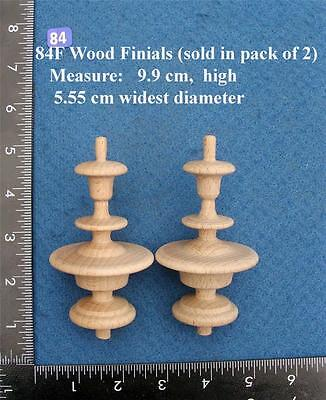 *Pair of Clock / furniture Finials Style 84F