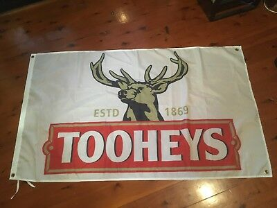 Tooheys beer. Vb Carlton beer 5x3 foot man cave pool room wall hanging shed
