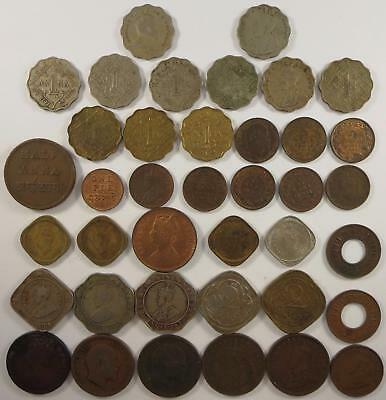 Best Offer! British India coin lot, Anna and Pice coins, 1870's to 1940's