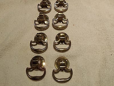 Set Of Eight Solid Brass Drawer - Cabinet Handles
