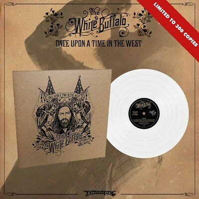 """The White Buffalo """"Once Upon A Time In The West"""" White Vinyl - NEW"""