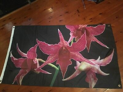 Orchid great gift idea she cave 5x3 foot man cave pool room wall hanging shed