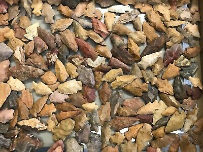 (1) Colorful Louisiana Indian Arrowhead Artifact From Personal Found Collection