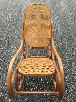 Thonet Bentwood/Cane Rocking Chair