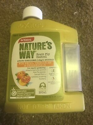 Yates 200ml Natures Way Fruit Fly Control Insecticide