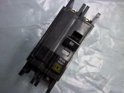 Qou250 Square D 50A 240V 2P Feed Thru Qou Circuit Breaker