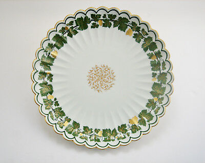 Antique Meissen Factory Porcelain Plate - 11 Inches  Diameter - Made In Germany