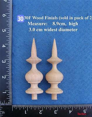 *Pair of Clock / furniture Finials Style 30F