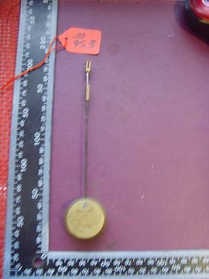 Pen#953: Single Old early type french  clock PENDULUM 167mm long