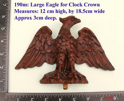 "190M ""Large Eagle"" clock case / furniture DIY"