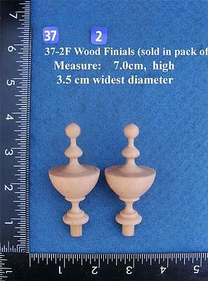 Pair of Clock / furniture Finials Style 37(B)F