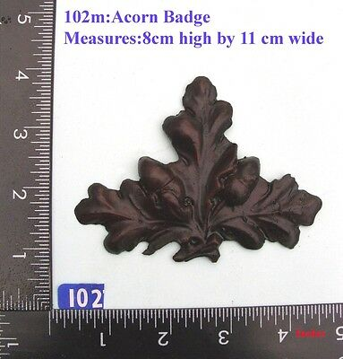 "102M ""Acorn Badge"" clock case / furniture DIY"