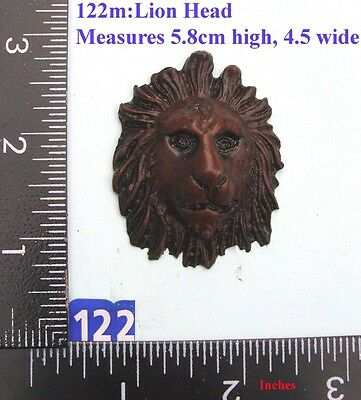 "122M ""Lions Head"" clock case / furniture DIY"