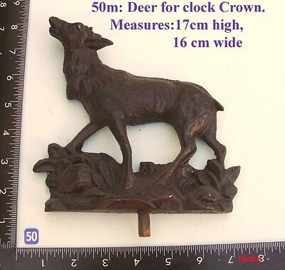 "50M ""Large Deer"" clock case / furniture DIY"