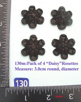 "130M ""4 Daisy badges"" clock case / furniture DIY"