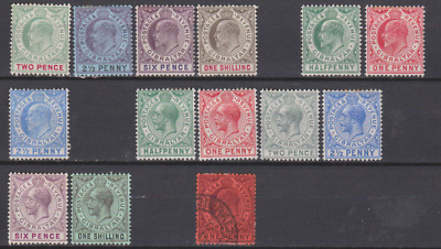 Gibraltar 1903/20's Collection Mint Mounted & Used Cat £200