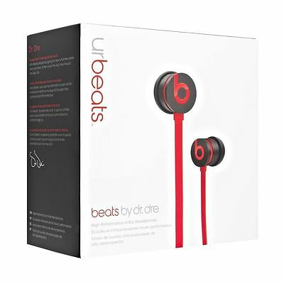 New! SEALED! urBeats By Dr. Dre Wired In-ear W/ControlTalk Headphone - Black/Red