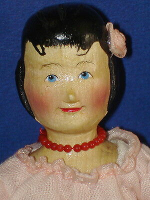 HITTY Wood Doll wChest & Bench Judy Brown Collectible Concepts Williamsburg 1998
