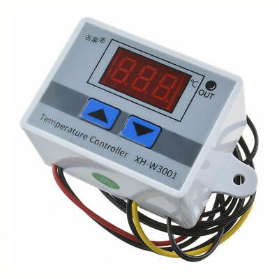 220V Digital LED Temperatur Controller Thermostat Control Switch NTC 10K Probe