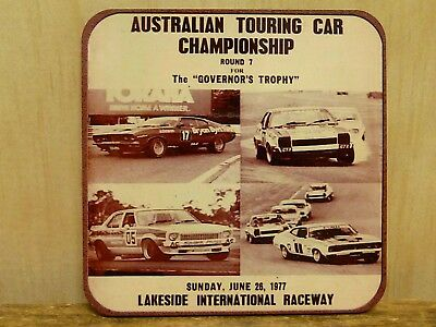 95Mm Fridge Magnet - Atcc Lakeside Raceway, The Governors Trophy, 1977
