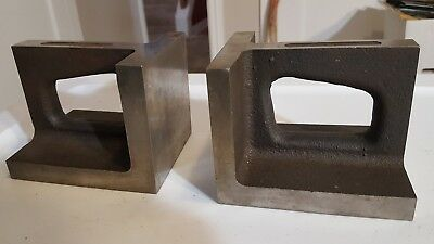 2 Machinist Right Angle Plate Blocks