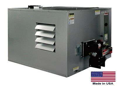 WASTE OIL HEATER Commercial  Ductable 300,000 BTU  Incl TW Vent Kit 215 Gal Tank
