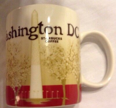 RARE, DISCONTINUED - WASHINGTON DC Starbucks Global Icon Series 16 oz. Mug