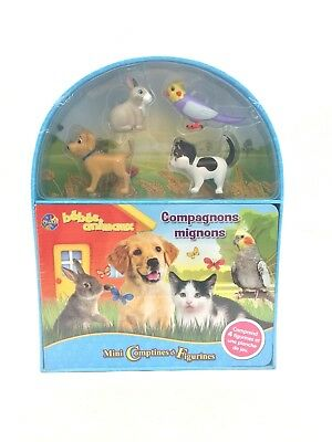 Mini Comptines et Figurines Bebe Animaux by Phidal - FRENCH Children's Storybook