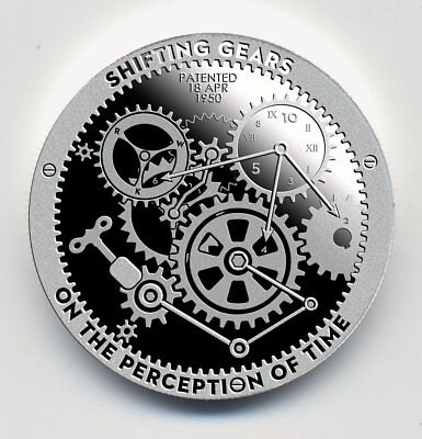 1 oz Shifting Gears Silver Round (T.I.M.E. Series Proof Like) Serial Numbered