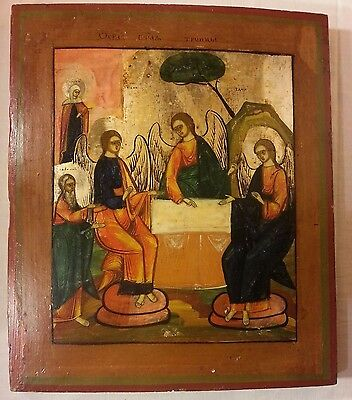 Russian Orthodox Icon Of Holly Trinity Old Testament