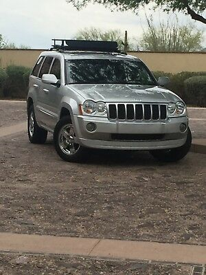 2007 Jeep Grand Cherokee Overland 2007 Jeep Grand Cherokee Diesel Overland Edition No Reserve