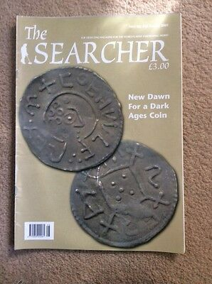 metal detecting magazine. The Searcher