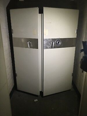 Large, Double Door (Fire Tested) Chubb Dial Combination Safe