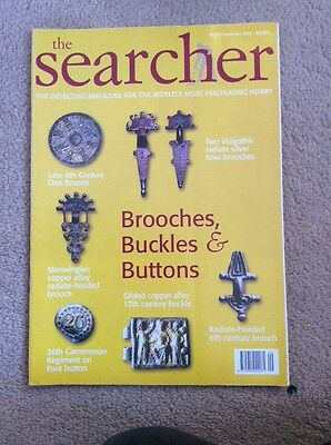 The Searcher. metal detecting magazine