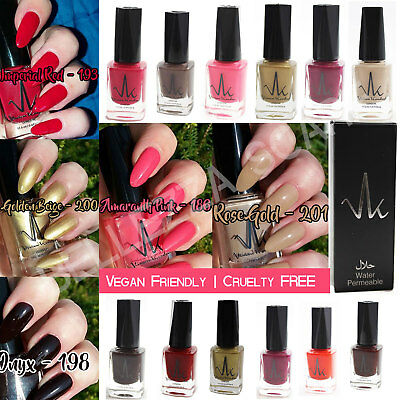 VK London Halal Nail Polish Wudhu Friendly Breathable Water Permeable Varnish