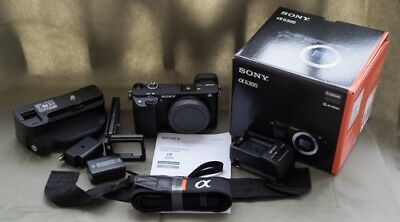 Sony Alpha a6300 24.2MP Digital SLR Camera - (Kit w/ 16-50mm and 55-210) + Extra