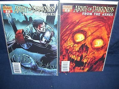 Army of Darkness From The Ashes #2 Comic Lot Cover NM with Bag and Board Suydam
