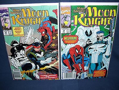 Marc Spector: Moon Knight #19 & #20 Marvel NM with Bag and Board