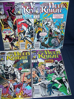 Marc Spector's Moon Knight Comic Lot #8 - #11, #13 NM with Bag and Board Marvel