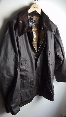 Barbour Men's Classic Bedale, Rustic Brown, Size 46, New With Tags