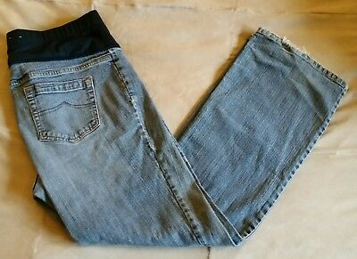 old Navy maternity stretch boot cut jeans size large