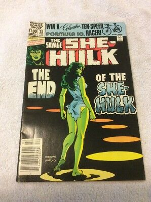 ATTIC FINDS, .99 Cent Sale  The Savage She Hulk 25