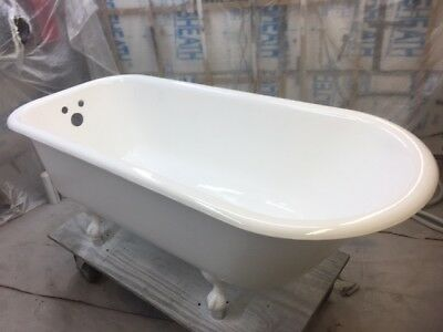 * Restored Antique Cast Iron Claw Foot Tub * (( SHIPPING AVAILABLE ))