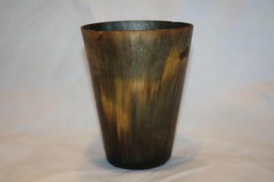 Antique Large Georgian Horn Beaker c1820 4.5'' Good condition